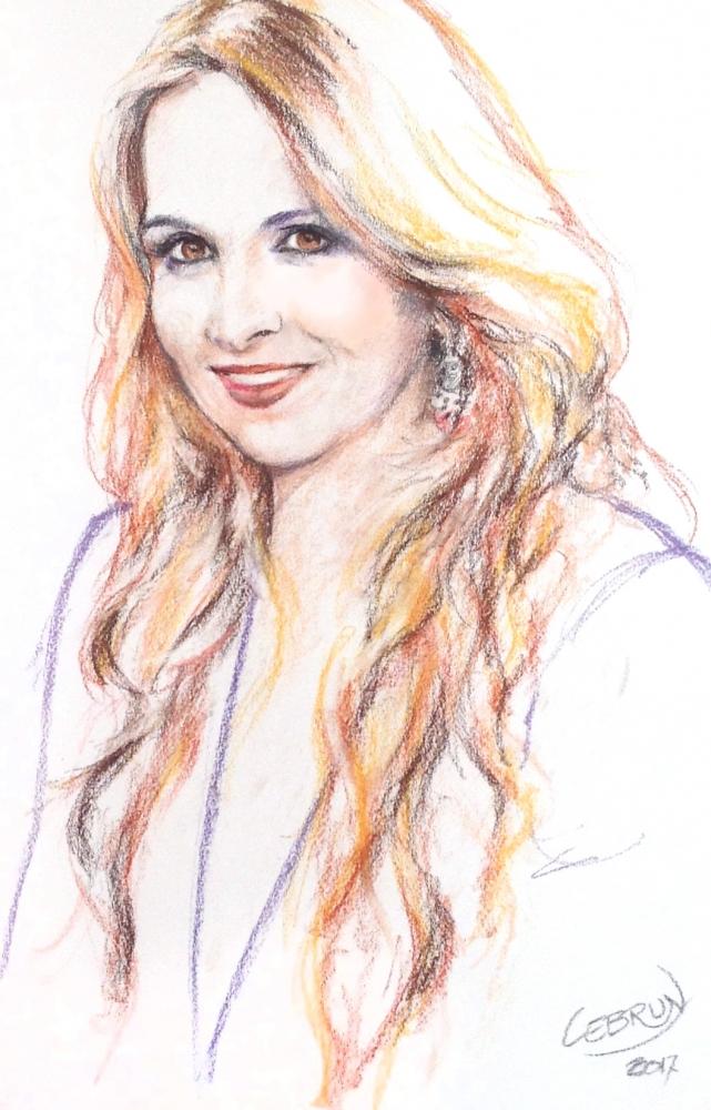 Hélène Ségara by Lebrun